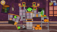 Angry Birds Seasons Haunted Hogs