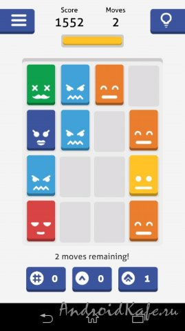 Hues Game - Threes Powered up!
