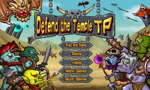 Defend temple-Top Free Game