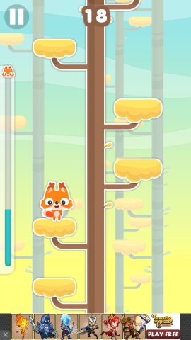 Jumping Fox: Climb That Tree!
