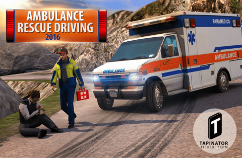Ambulance Rescue Driving 2016