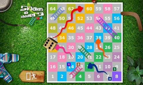 Snakes & Ladders 3D