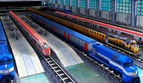 Train Racing Games 3D