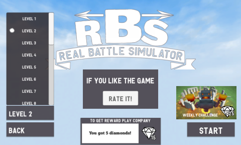 Real Battle Simulator