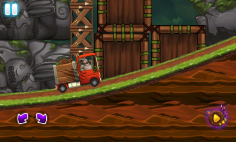 Angry Bunny Race: Jungle Road