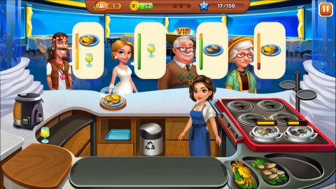 Cooking Rush: Chef's Fever Games