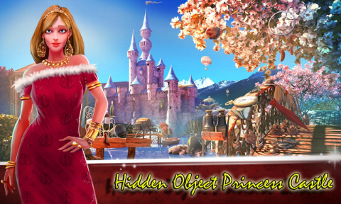 Hidden Object Princess Castle