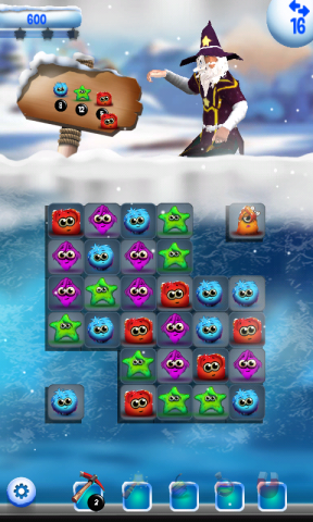 Frozen Magic: Match 3 Game Free