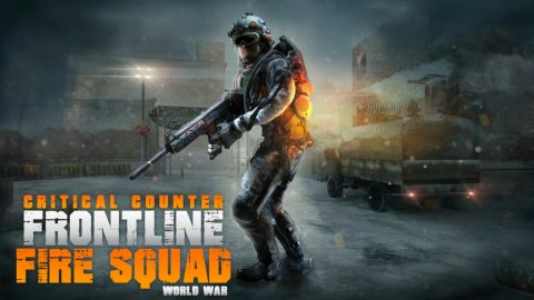 Frontline: Critical World War Counter Fire Squad