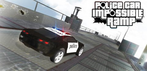 Police Car Impossible Ramp