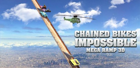 Chained Bikes: Mega Ramp Stunts