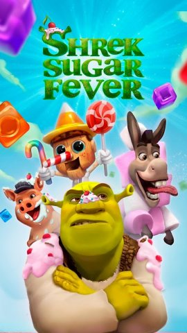 Shrek Sugar Fever: Puzzle Game