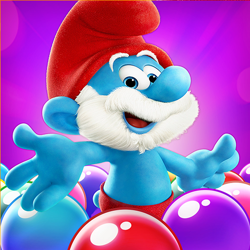 Smurfs Bubble Shooter Story картинка