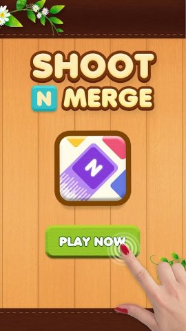 Shoot n Merge: reinvention of the classic puzzle
