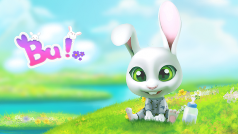 Bu the Baby Bunny: Cute pet care game