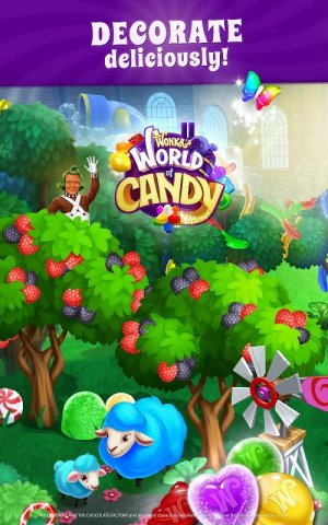 Wonka's World of Candy: Match 3