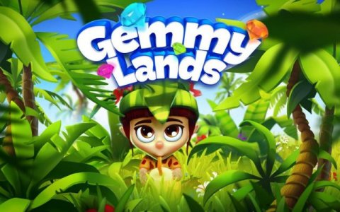 Gemmy Lands: Match-3 Games