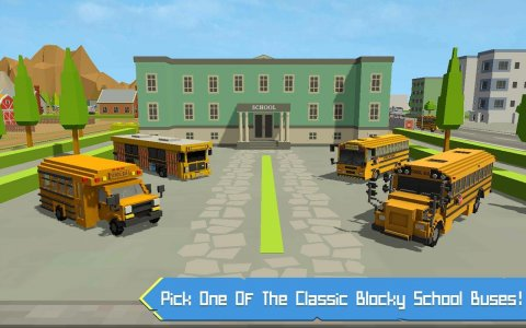 School Bus Simulator: Blocky World