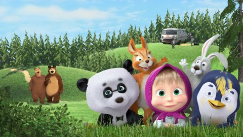 Masha and The Bear Jam Day: Match 3 games for kids