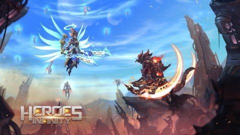 Heroes Infinity: God Warriors - Action RPG Strategy