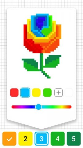 Draw.ly: Color by Number Pixel Art Coloring
