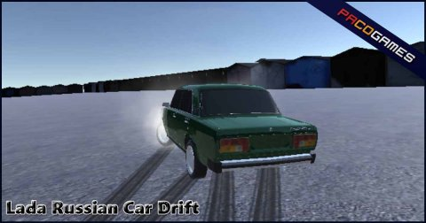 Lada Russian Car Drifting