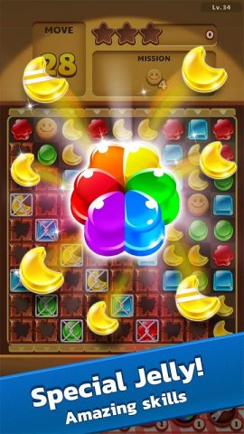 Jelly Drops: Free Gummy Drop Puzzle Games