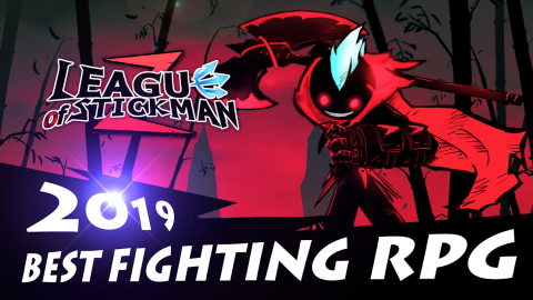 League of Stickman 2: Best Fighting RPG