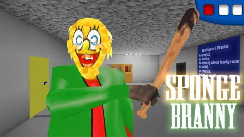Sponge Branny & The Scary Granny Horror Mod House