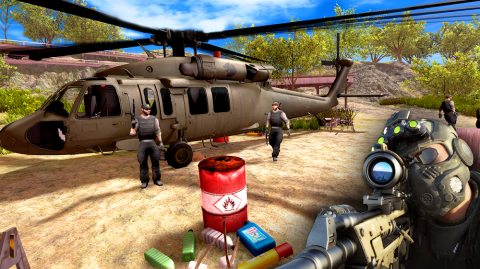 Sniper Shooter 3D: Best Shooting Game