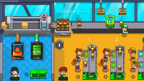 My Factory Tycoon Game: Clicker Game