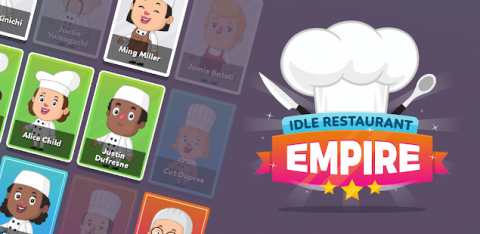 Idle Restaurant Empire: Cooking Tycoon Simulator