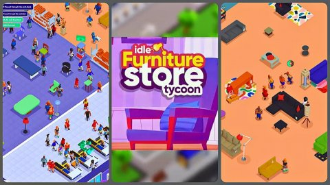 Idle Furniture Store Tycoon: My Deco Shop