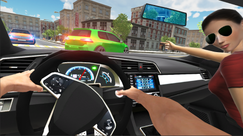 Car Simulator Civic: City Driving